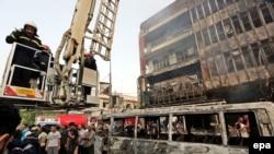 IRAQ BAGHDAD CAR BOMB BLAST