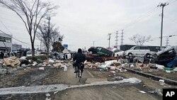 日本地震後的災情
