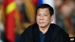 Le président des Philippines Rodrigo Duterte. 22 mai 2017.