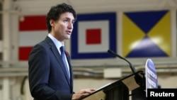 Le Premier ministre canadien Justin Trudeau à Vancouver, Canada, le 7 novembre 2016.