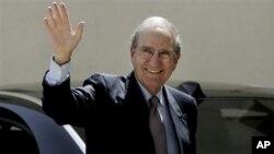 Ο ειδικός απεσταλμένος των ΗΠΑ για θέματα Μέσης Ανατολής, Τζορτζ Μίτσελ