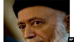 阿富汗前总统拉巴尼(资料照片)