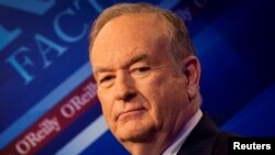 "Pembawa Acara Populer Fox News ""The O'Reilly Factor"", Bill O'Reilly di New York, 17 Maret 2015 (Foto: dok)."