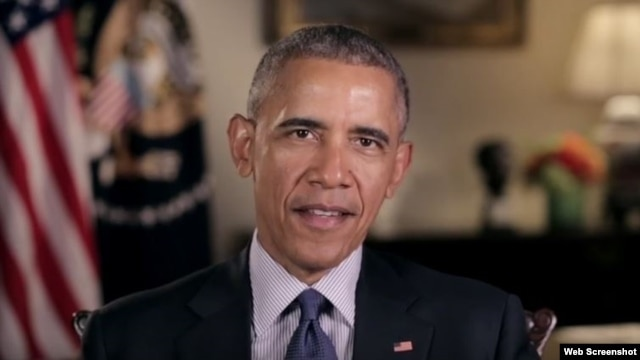 President Barack Obama discusses his upcoming trip to Cuba during his weekly address, Feb. 20, 2016.