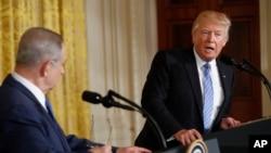 Benjamin Netanyahu e Donald Trump reforçam parceira entre Washington e Telavive