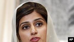 პაკისტანის საგარეო საქმეთა მინისტრი ჰინა რაბანი