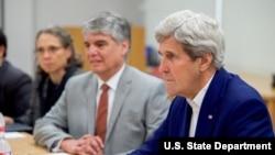 美国国务卿克里担忧中国NGO管理法(图片来源:美国国务院)