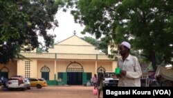 The central mosque KM5 district of Bangui, Central African Republic, April 6, 2014, photo Bagassi Koura, VOA French.