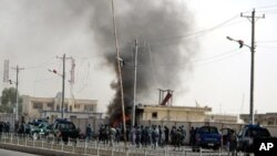 افغانستان: خودکش حملےمیں12 پولیس اہلکار، ایک بچہ ہلاک