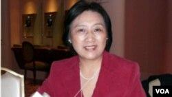 高瑜2006年在美國 (美國之音國符拍攝)