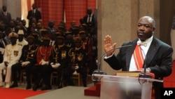 Le président gabonais Ali Bongo Ondimba, 27 septembre 2016.