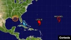 Las autoridades meteorológicas prevén que la temporada de huracanes se prolongará hasta el 30 de noviembre. [Foto: Centro Nacional de Huracanes de EE.UU.]