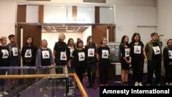 اعتراض فعالان مدنی هنگکنگ به احکام صادر شده برای نسرین ستوده