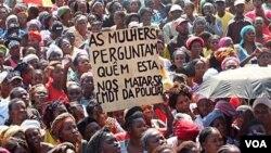 Manifestação Cafunfo na Lunda Norte