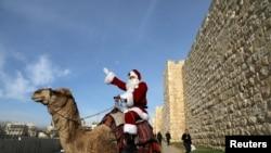 Yerusalem merupakan tempat yang tidak dapat dilupakan untuk merayakan Natal, sebagai ilustrasi. (Foto: Reuters)