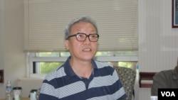资料照片:哥伦比亚大学客座教授张博树。