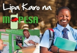 Mpesa Kenya's first mobile banking service network