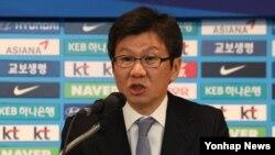 Chung Mong-Gyu, président de la fédération sud-coréenne de football, le 25 janvier 2017