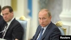 FILE - Russian President Vladimir Putin.