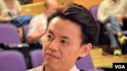 香港民主黨副主席羅健熙 (VOA 湯惠芸攝)