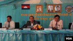 NEC held press conference on elction ink removable, 130727