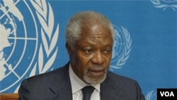 Kofi Annan resigned from his position as United Nations and Arab League negotiator for Syria.
