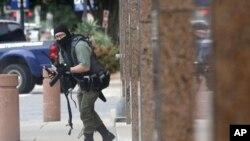 Подозреваемый в стрельбе у федерального здания в Далласе
