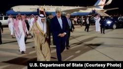 وزرای خارجه آمریکا و عربستان در سفر اردیبهشت ماه آقای کری به جده