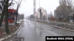 Priština - tokom mere zabrane kretanja koju je proglasila Vlada Kosova