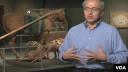 Kurator Museum Nasional Indian Amerika, Emil Her Many Horses, mengatakan penduduk asli Amerika berterima kasih kepada orang-orang Eropa yang telah memperkenalkan kuda kepada mereka.
