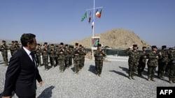 Francuski predsednik Nikola Sarkozi u iznenadnoj poseti Avganistanu, 12. juli, 2011.