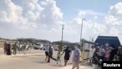 Evakuacija ljudi iz bioskopa u Odessi, u Texasu