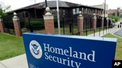 Kantor pusat Departemen Keamanan Dalam Negeri AS di Washington.