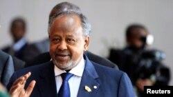 Le président de Djibouti Ismaël Omar Guelleh brigue, vendredi 8 avril 2016, un nouveau mandat. (Photo d'archives, prise lors du sommet de l'Union africaine à Addis-Abeba, le 12 octobre 2013.)