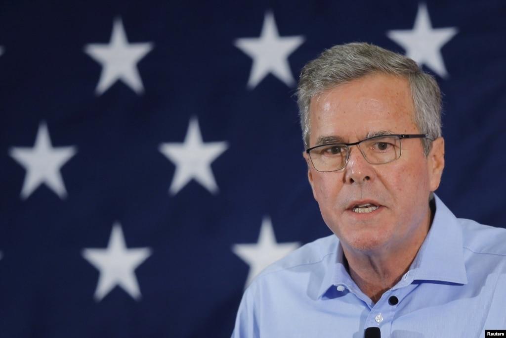 Jeb Bush annonce sa candidature � la pr�sidence des Etats-Unis