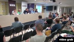 Konferencija za štampu KRIK-a