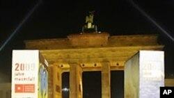 베를린 장벽 붕괴 20주년 기념행사