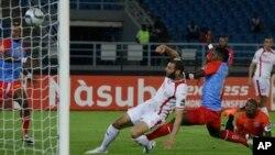 RDC -Tunisie, dernier match de groupe lors de la CAN 2015.