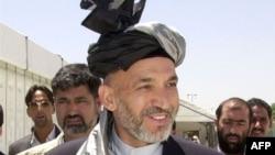 د افغانستان پخوانی جمهورریس حامد کرزي (ارشیف)