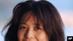 參加營救陳光誠的南京網友珍珠(本名何培蓉) 資料照片