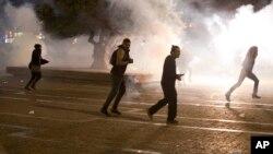 2015年5月3日以色列埃塞俄比亚犹太人在特拉维夫与防暴警察冲突