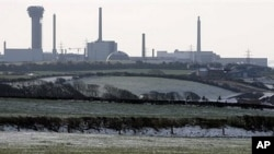 A general view of the Sellafield nuclear power plant in Seascale, northern England (File Photo)