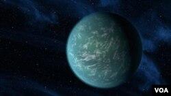 El exoplaneta Kepler-22b fue detectado por una sonda-telescopio lanzada en 2009.