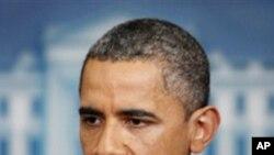 합의 내용을 설명하는 오바마 대통령