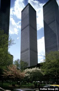 «Башни-близнецы». Фото: CoStar Group