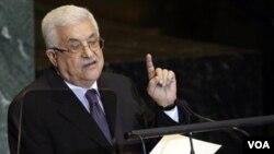 Presiden Palestina Mahmoud Abbas saat berbicara pada Sidang Umum PBB (foto: dok). Abbas mengingatkan waktu bagi perundingan damai Israel-Palestina makin habis.