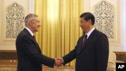 امریکی سینیٹروں کی بیجنگ میں چینی نائب صدر سے ملاقات