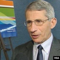 Dr. Anthony Fauci, Direktur Lembaga Nasional AS untuk Penanganan Alergi dan Penyakit-penyakit Menular.