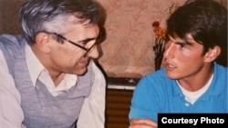 С Томом Крузом в Москве. 1990 г.