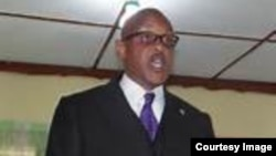 FILE - Liberia Anti-Corruption Commission chairman James Verdier.